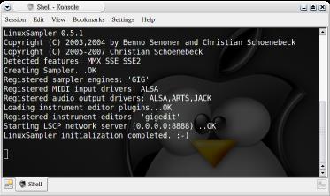 http://www.linuxsampler.org/screenshots/ls_0_5_1_console.png